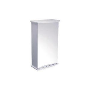 Photo of High Gloss Single Mirrored Door Cabinet Household Storage