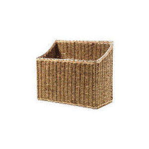 Photo of Seagrass Magazine Basket Household Storage