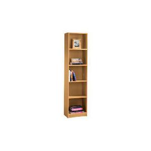 Photo of Value 5 Shelf 40CM Bookcase, Oak Effect Furniture