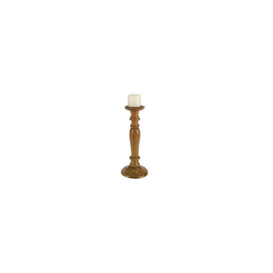 Tesco Wooden Candle Stick