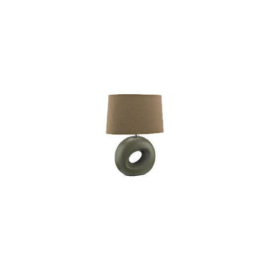 Tesco Calypso Table Lamp, Mocha