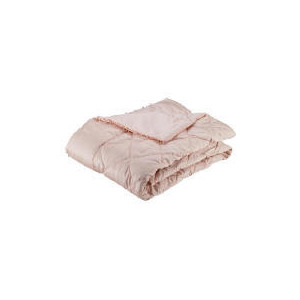 Photo of Finest Beaded Bedspread, Chalk Pink 220X200CM Bed Linen