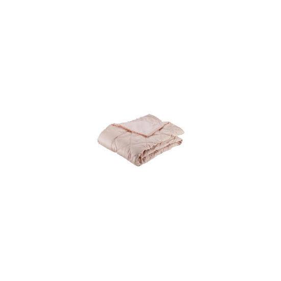Finest Beaded Bedspread, Chalk Pink 220x200cm