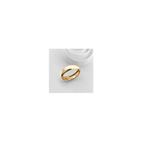 9ct Rolled Gold 5mm Wedding Ring U