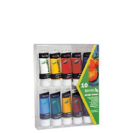 Acrylic 10 X 75Ml Pack Reviews