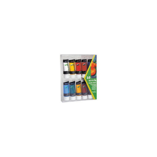 Acrylic 10 X 75Ml Pack