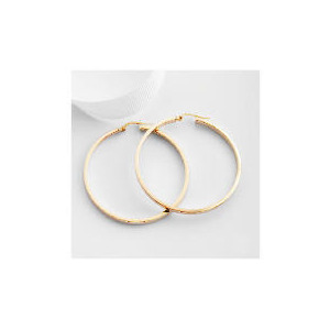 Photo of 9CT Gold Hoop Earrings Jewellery Woman