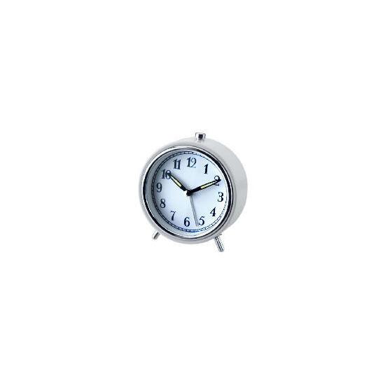 LC Alarm Clock Small White