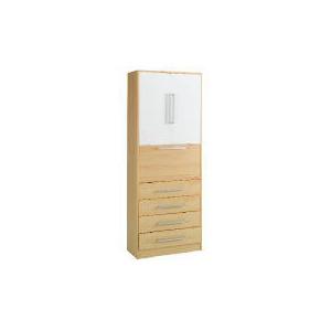 Photo of Shake Storage Unit With Desk, White Furniture