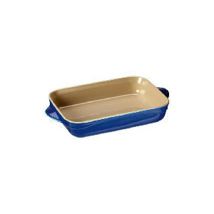 Photo of Le Creuset Curve Stoneware 25CM Rectangular Baking Dish Mediterranean Blue Cookware