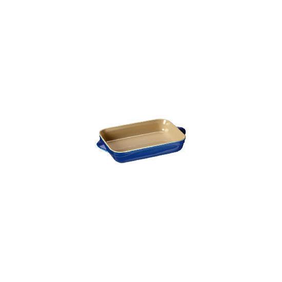 Le Creuset Curve stoneware 25cm rectangular baking dish Mediterranean Blue