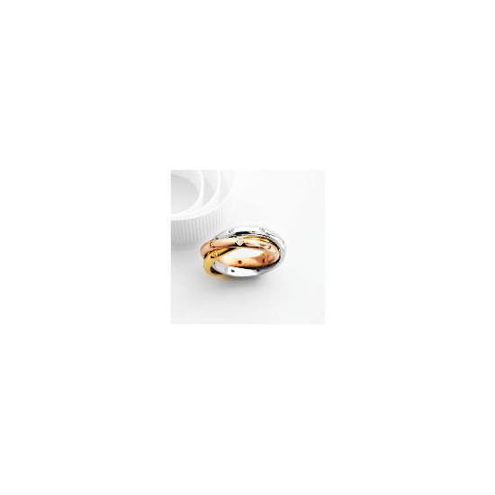 Adrian Buckley Cubic Zirconia Russian Wedding Ring, Large