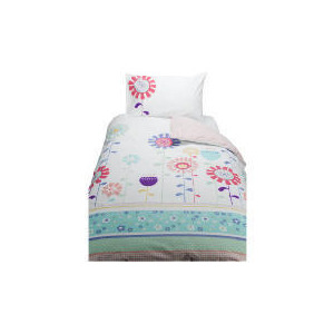 Photo of Tesco Kids Printed Floral Duvet Bed Linen