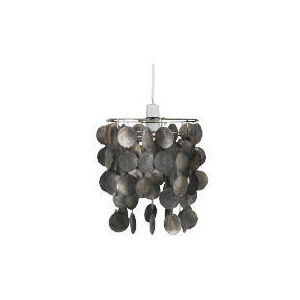 Photo of Tesco Capiz Pendant, Black Lighting