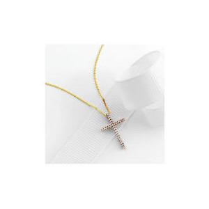 Photo of 9CT Gold 10 Point Diamond Pendant Jewellery Woman