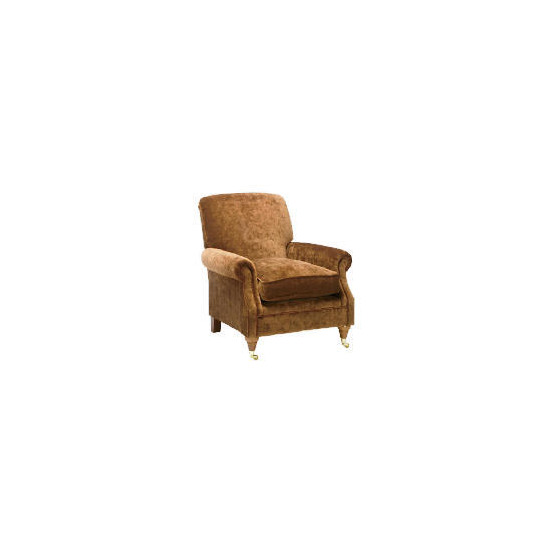 Finest Express Bloomsbury Velvet Club Chair, Cocoa