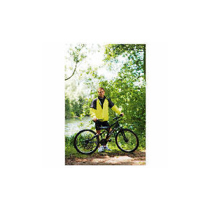 Photo of Lightflo Jacket - Black & Yellow - L Cycling Accessory