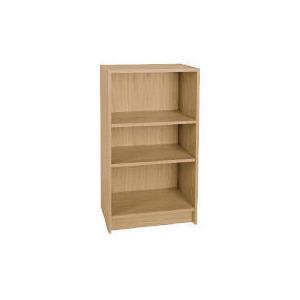 Photo of Value 3 Shelf 40CM Bookcase, Oak Effect Furniture