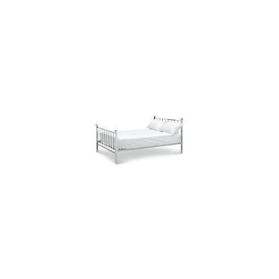Amur Double Bed, Chrome