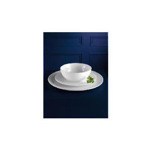 Photo of Tesco White Porcelain 12 Piece Set Dinnerware
