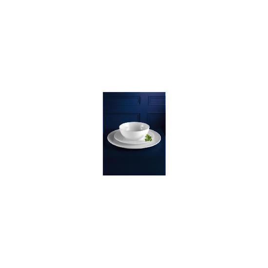 Tesco white porcelain 12 piece set