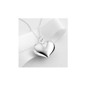 Photo of Sterling Silver Heart Pendant Jewellery Woman