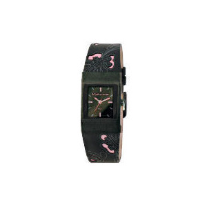 Photo of Kahuna Ladies Black and Pink Watch Watches Woman