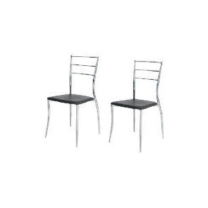 Photo of Pair Of Helsinki Dining Chairs, Black Furniture