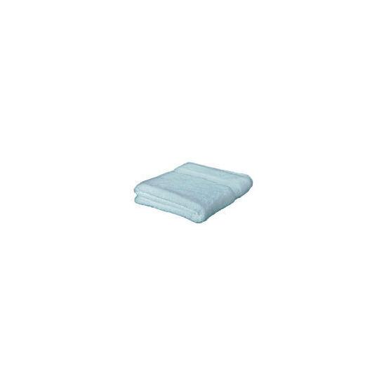 Finest hygro cotton bath sheet Silvery Blue