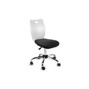 Photo of Glacier Acrylic Chair, Black Cushion Office Furniture