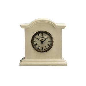 Photo of Tesco Colonial Mantle Clock Cream Clock