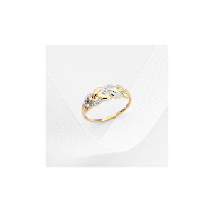 Photo of 9CT Gold Diamond Ring J Jewellery Woman