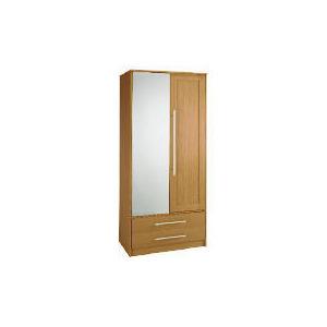 Photo of Brisbane 2 Door 2 Drawer Wardrobe, Walnut Furniture