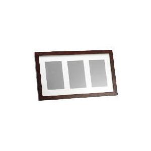 Photo of Tesco Dark Wood Frame 3 Aperture Home Miscellaneou