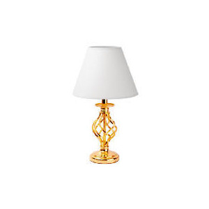 Photo of Tesco Twisted Cage Table Lamp Lighting