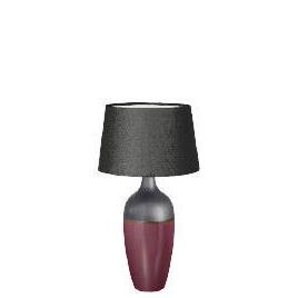 Tesco Reactive Glaze Aubergine Lamp Reviews