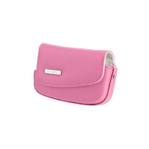 Photo of Fujifilm Z20 Leather Case - Pink Camera Case