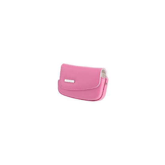 Fujifilm Z20 Leather Case - Pink