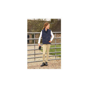 Photo of Tesco Girls 2 In 1 Quilted Riding Jacket/Waistcoat Navy Age 9-10 Sports and Health Equipment