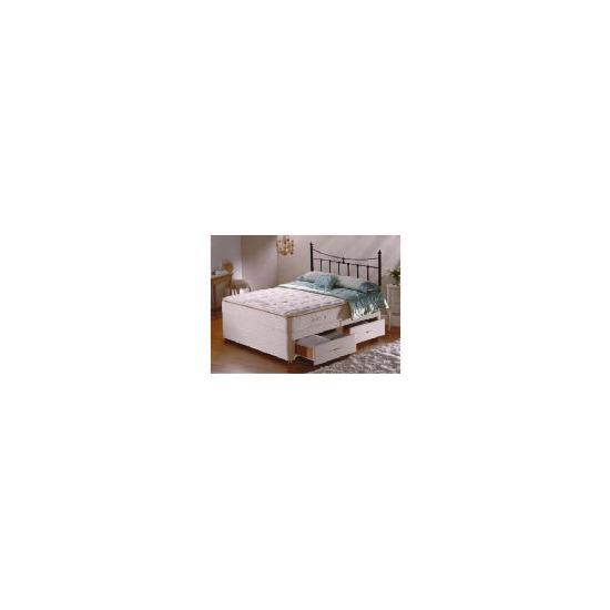 Sealy Posturepedic Ultra Pillow Elegance 4 drawer divan set Double