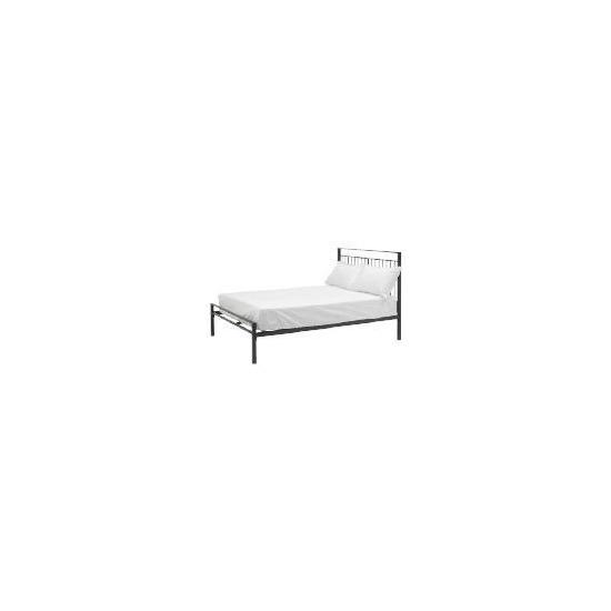Mezen Double Bed, Black