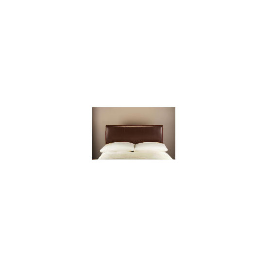 Pablo Bi-Cast Leather King Headboard, Brown