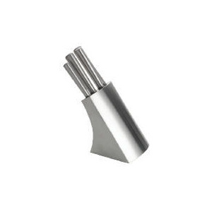 Photo of Tesco Stainless Steel Hollow Handle Knife Block Kitchen Accessory