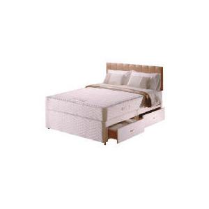 Photo of Sealy Posturepedic Ultra Memory Comfort 4 Drawer Divan Set King Bedding