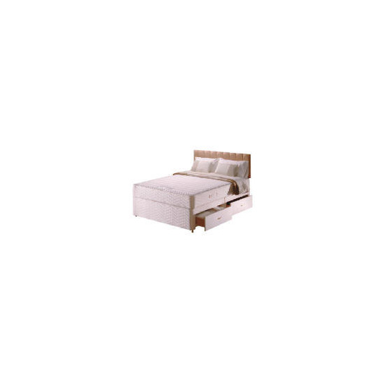 Sealy Posturepedic Ultra Memory Comfort 4 drawer divan set King