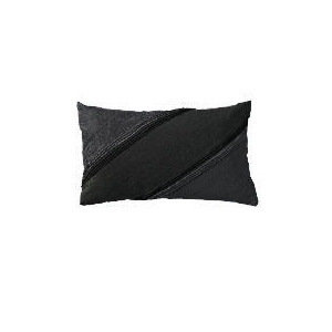 Photo of Hotel 5* Black Embroidered Cushion Cushions and Throw