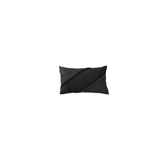 Hotel 5* Black Embroidered Cushion