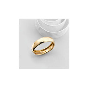 Photo of 9CT Rolled Gold 5MM Wedding Ring Q Jewellery Woman