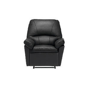 Photo of Boston Leather Recliner Chair, Black Furniture