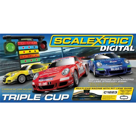 Scalextric Digital Triple Cup